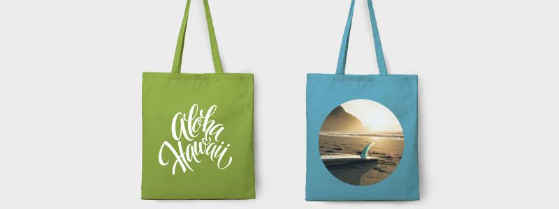 tote bag coloured