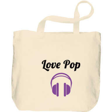 Bolsas Love Pop: Headphones